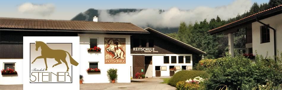 Reitschule Steiner in Eben in Pongau, Salzburger Land, AUSTRIA